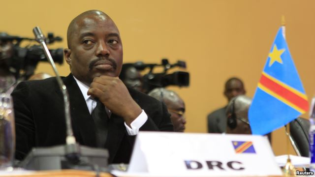 President of the Democratic Republic of the Congo Joseph Kabila. (Reuters)
