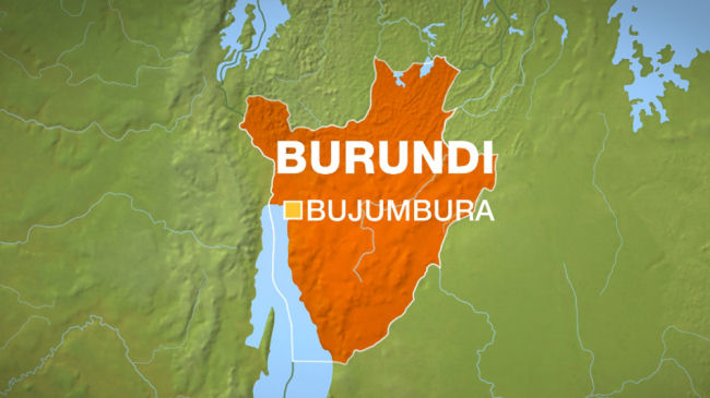 Map of Burundi. (Aljazeera)