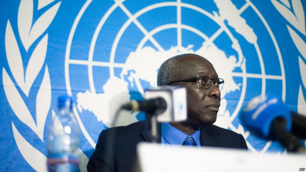 Adama Dieng is the UN Secretary-General's Special Adviser for the Prevention of Genocide. (AFP)
