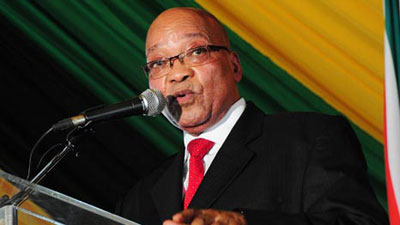 South Africa President Jacob Zuma. (AFP)