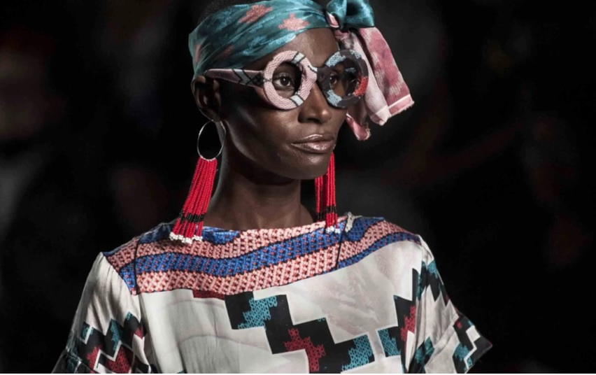 Birth of original talent, the African continent challenges the notion that global fashion starts in the northern hemisphere. (Photo: Time)