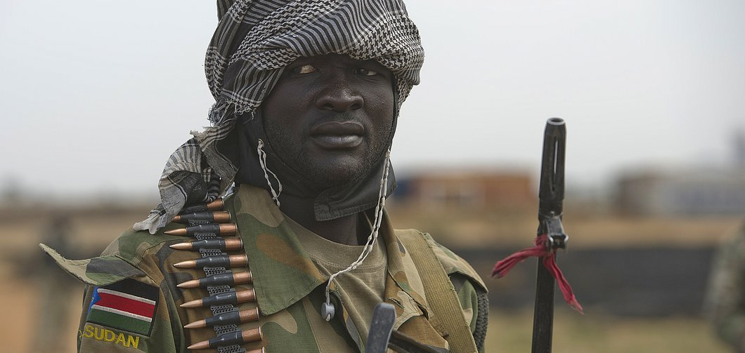 South Sudan Soldier. (Photo/Foreign Policy)