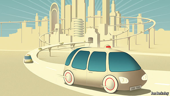 The Future Transportation, Autonomous Vehicles. (Image/Jon Berkeley)