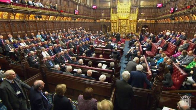 The House of Lords. (PA)