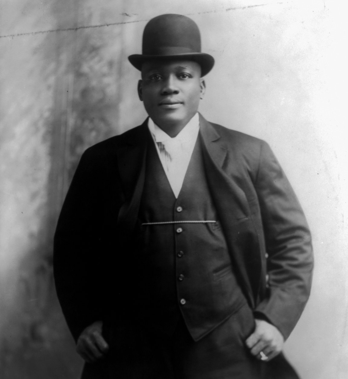 Jack Johnson former first black heavyweight champion. (AFP)