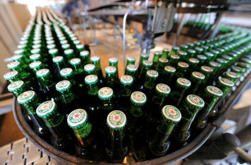 Dutch brewing giant Heineken announced it had bought two breweries in Ethiopia, Africa's second most populous country, in a $163-million deal (110 million euros). (Image AFP)